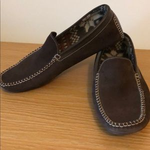 Cole Haan brown loafer slippers 11M